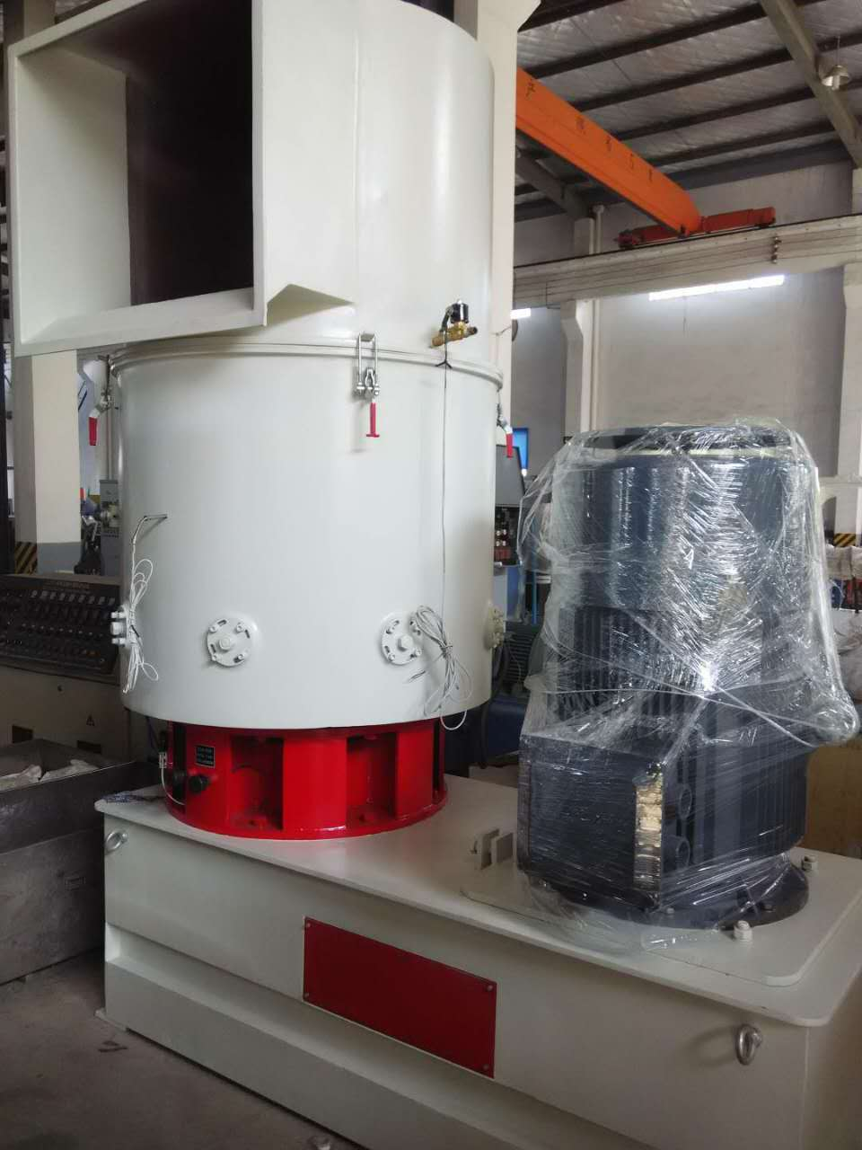 Agglomerator for film recycling